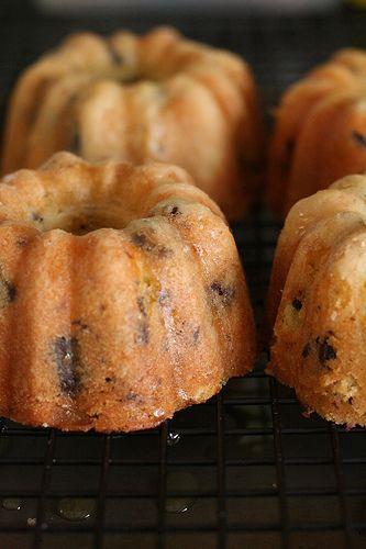 Orange Chocolate Chunk Cakes | desserts | Pinterest
