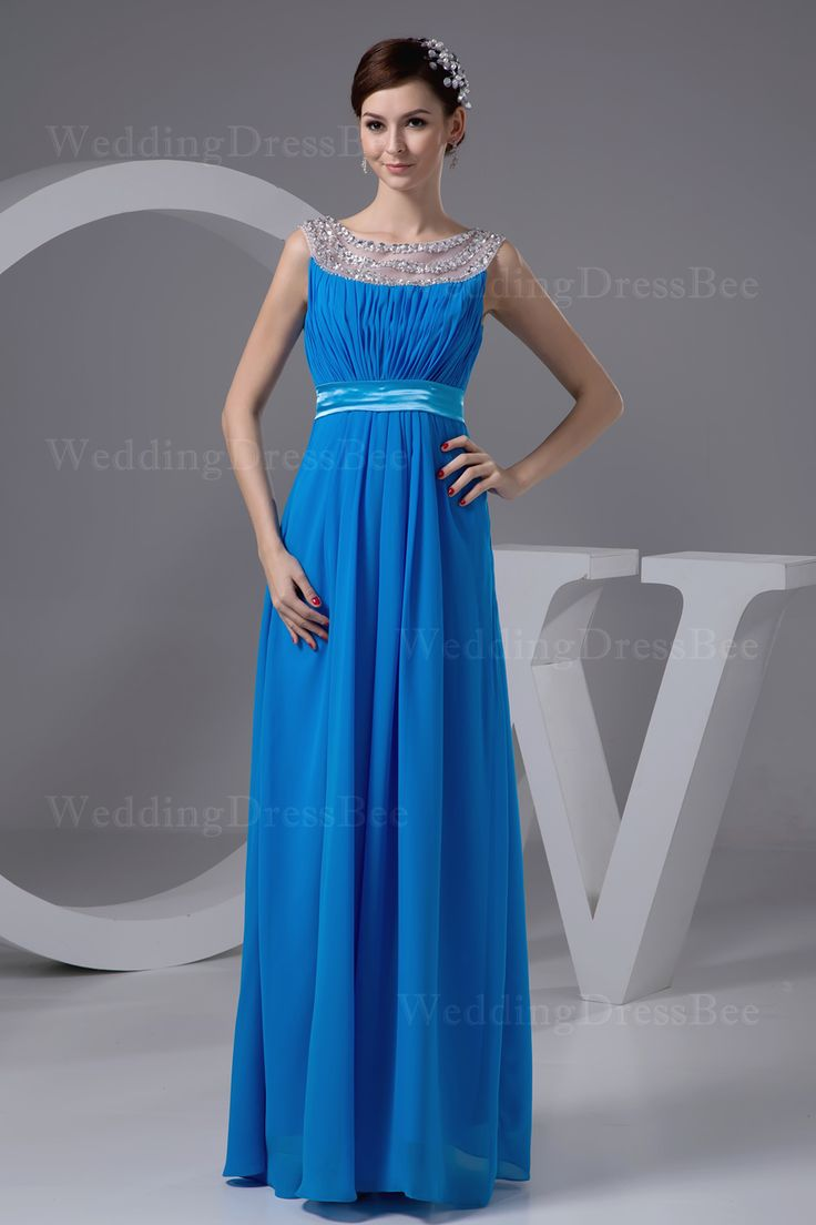 chiffon floor length dress