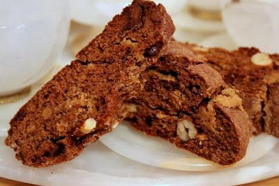 The Extraordinary Art of Cake: Chocolate Peanut Butter Biscotti Recipe