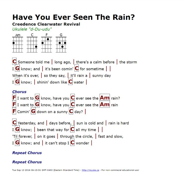 Lyric Have You Ever Seen The Rain Ccr - gaurani.almightywind.info