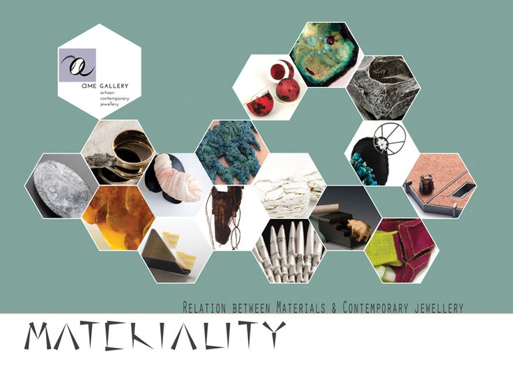 "Materiality – Relationship between material and contemporary jewellery"" ,"