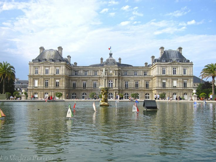Pinterest for Le jardin luxembourg