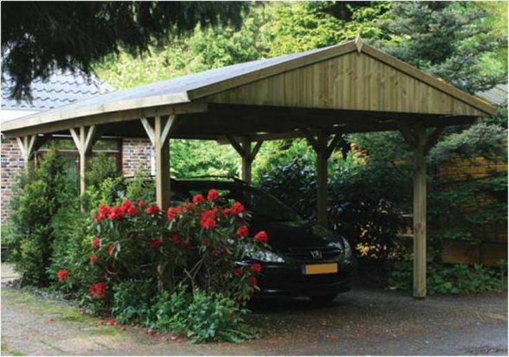 Carport with pitched roof for the home pinterest for Carport roof pitch