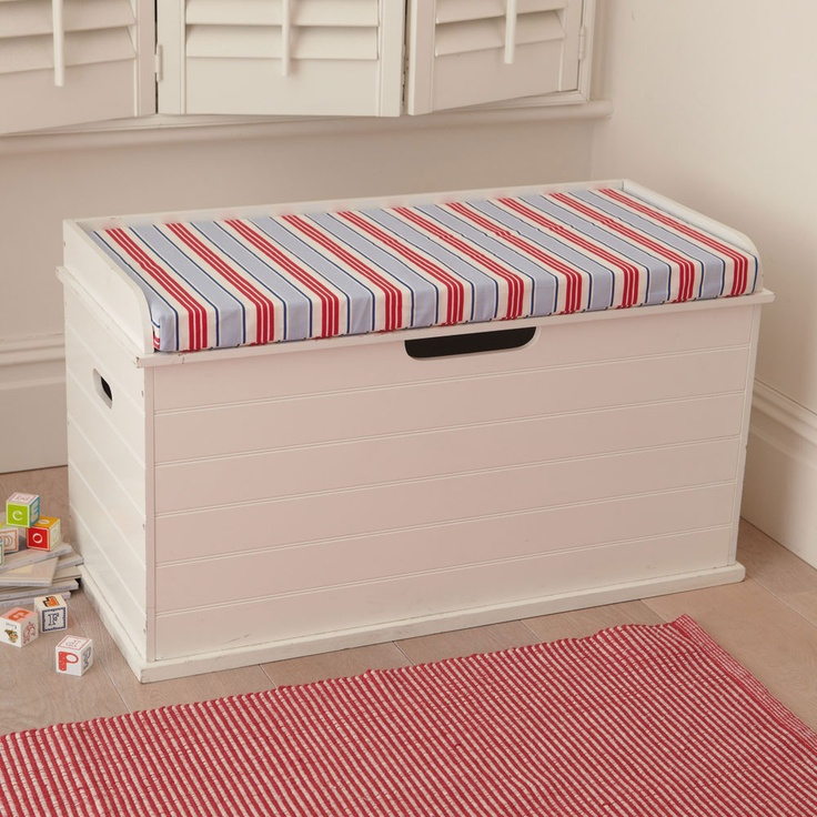 how to build a bench seat toy box