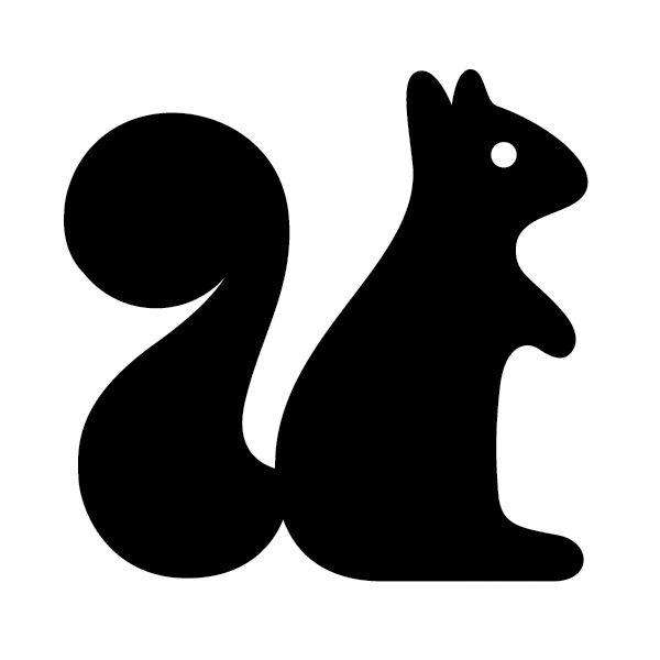 Squirrel chalkboard paper crafts amp printables pinterest