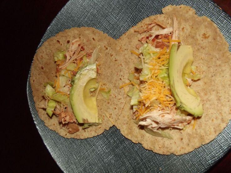 Super Simple Crock Pot Chicken Tacos | Crockpot | Pinterest