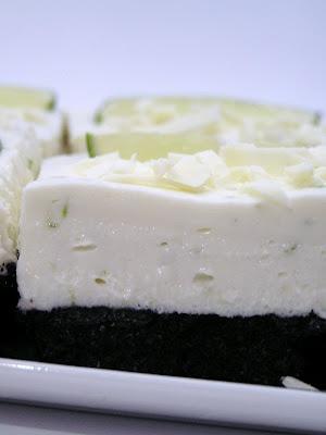 White Chocolate and Lime Cheesecake Bars   Me & My Damn Sweet tooth ...