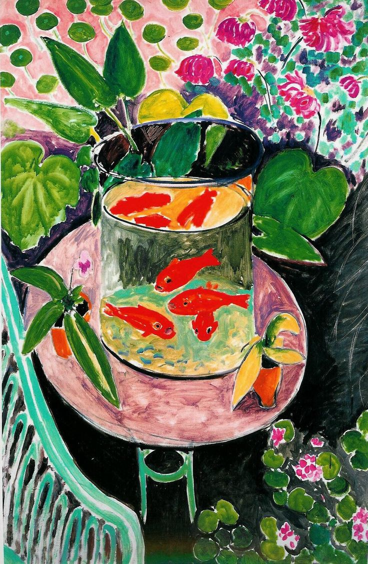 """henri matisse goldfish Goldfish, henri matisse i love henri matisse i love a lot of things i'm one of those people who say, """"oh that's my favorite"""" about 25 times a day."""