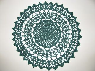 Crochet Galore: Holiday - December Doily of The Month