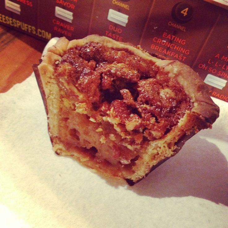 cupcake-handcrafted pie crust filled with homemade pecan pie filling ...