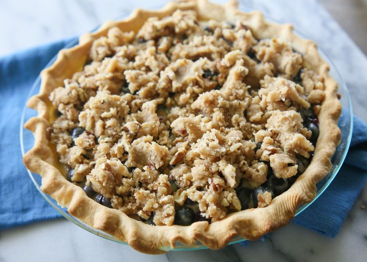 Custard Pie   The Girl Who Ate Everything. A creamy blueberry custard ...