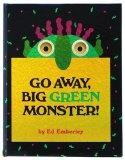 Go Away Big Green Monster...cute color word writing for kindergarten