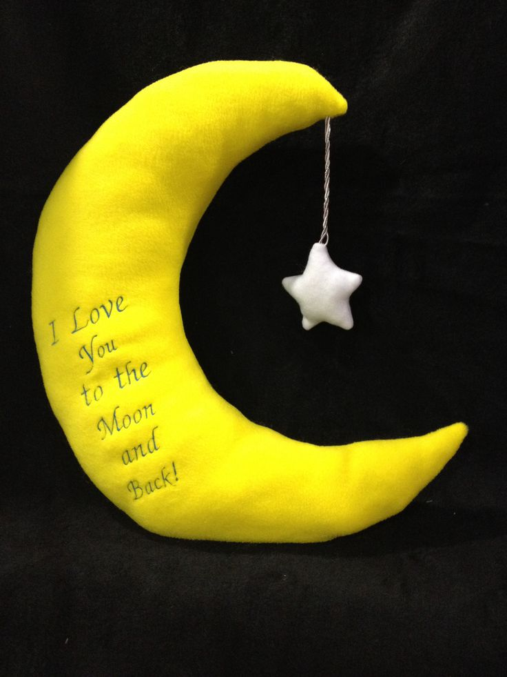 Moon Pillow 24 Quot Tall With 5 Quot Star Kaitybug Stuff Pinterest