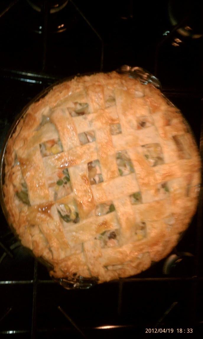 Chicken pot pie w/ pat's cheese crust | Recipe
