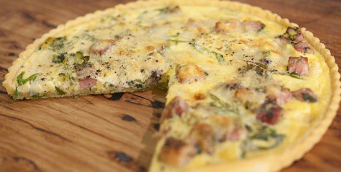 Cheese, Bacon & Leek Tart (quiche) | Pies/Quiche/Tarts | Pinterest