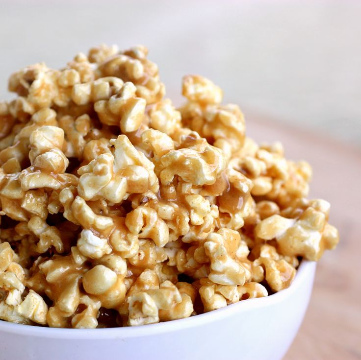 peanut butter popcorn | The Girl Who Ate Everything