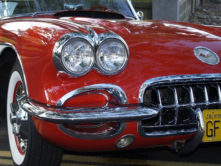 little red corvette print by bill gallagher. Cars Review. Best American Auto & Cars Review