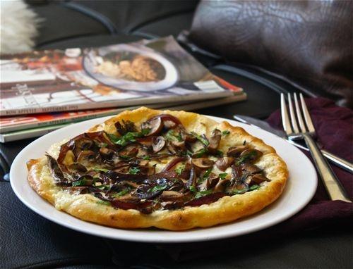 Wild Mushroom And Crescenza Pizza Recipes — Dishmaps