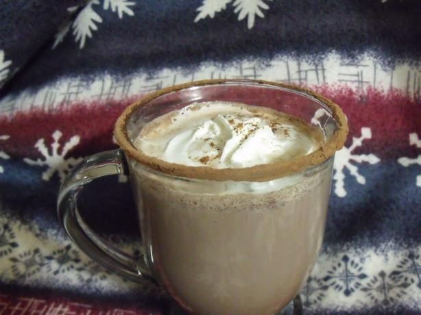 Hot Chocolate With Skim Milk, Cocoa Powder and Maple Syrup | Recipe
