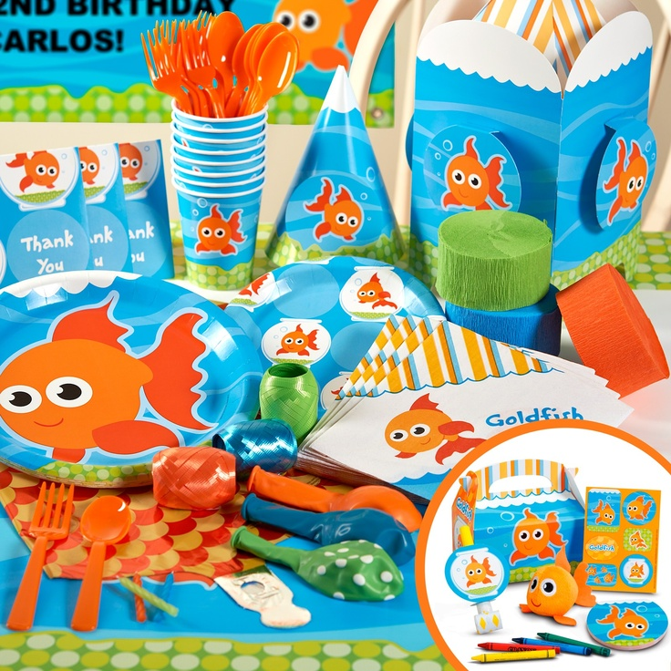 fish party supplies kid party themes decorations and