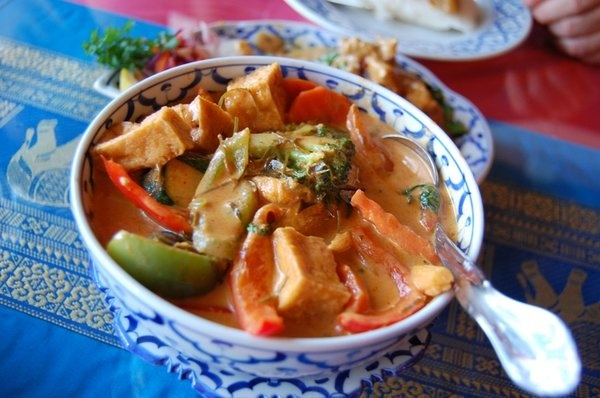 Panang Tofu Curry...my favorite meal. | Food | Pinterest