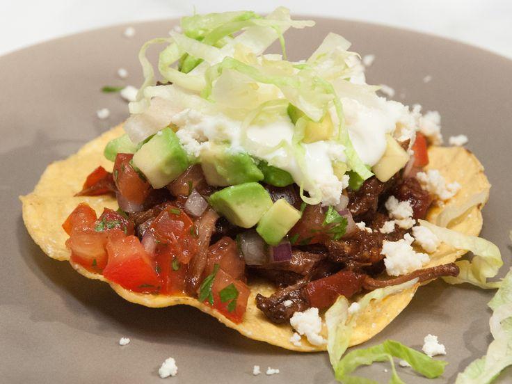 Slow-Cooker Braised Brisket (Machaca) Recipe : Marcela Valladolid ...