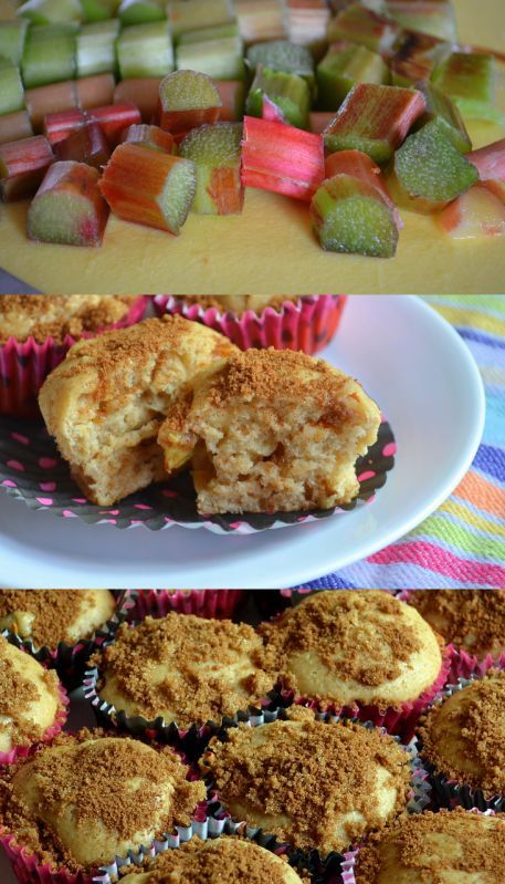 Our Favorite Rhubarb Muffins | Muffins/Sweet Breads | Pinterest