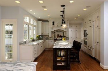 Colonial kitchen remodel for the home pinterest for Kitchen remodel colonial home