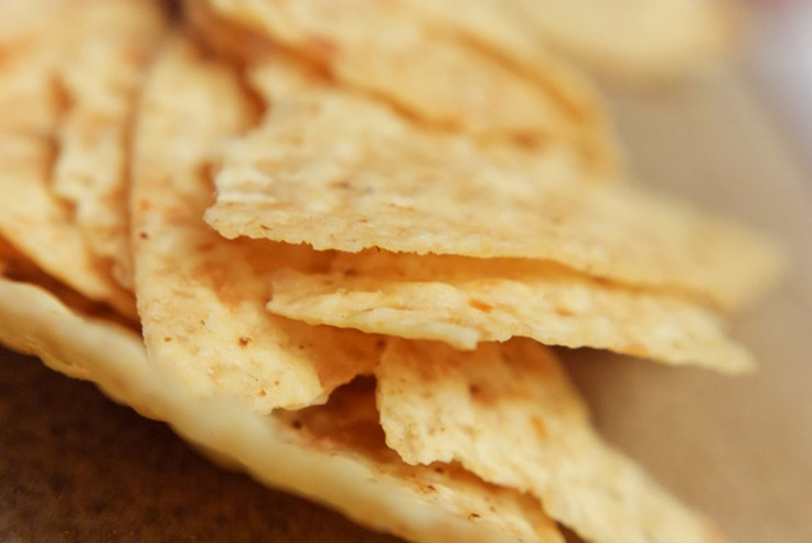 Easy Homemade Tortilla Chips | Dips | Pinterest
