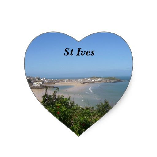 Comwall Design Decals : St Ives - Cornwall Stickers