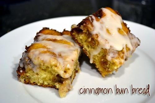 Cinnamon Bun Bread   Food   Pinterest