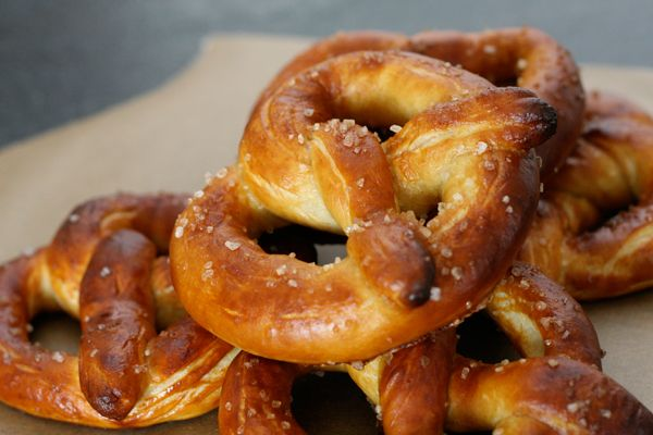 Warm, buttery soft pretzels. Amazing!!! | Food To Try | Pinterest