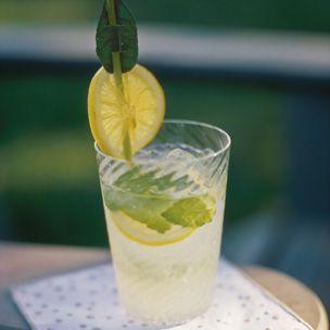 Sparkling Mint Lemonade   Recipe