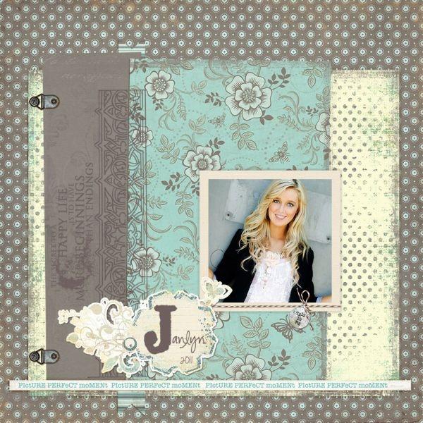 Digital Layout by @Jana for @Samantha Walker @Jessica Sprague