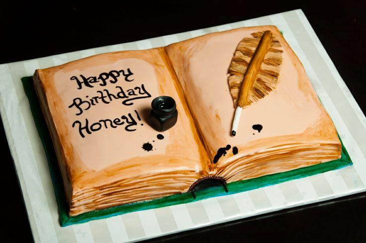 Cake Designs Book Shape : Book Cake - Book Shaped Cake Amazing Creative Cakes ...