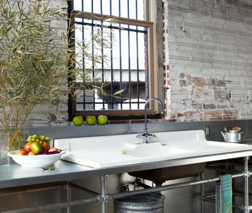 Single Line Kitchen Layout Ideas: Pin By Barbie Winter On Industrial Style