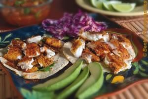 Gluten-Free Blackened Chicken Tacos