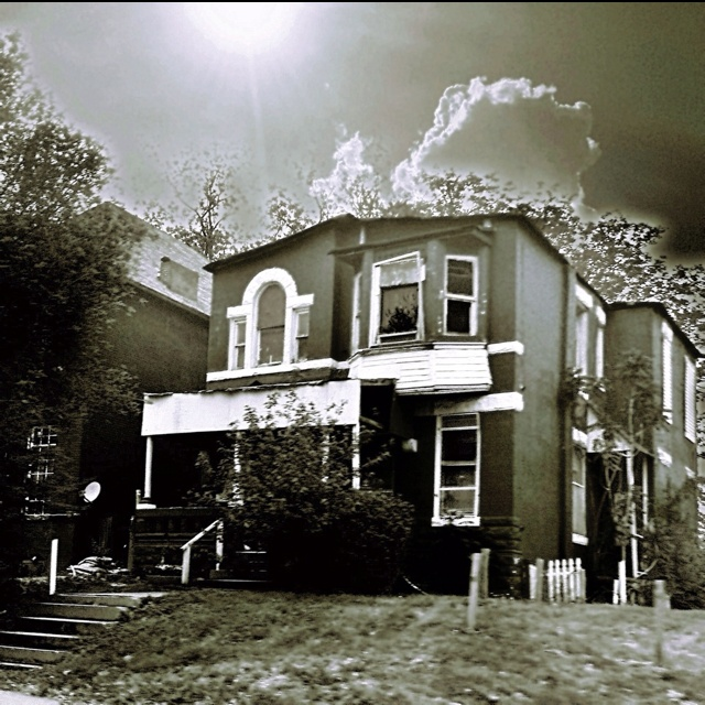 Abandoned house in St Louis Travel Pinterest