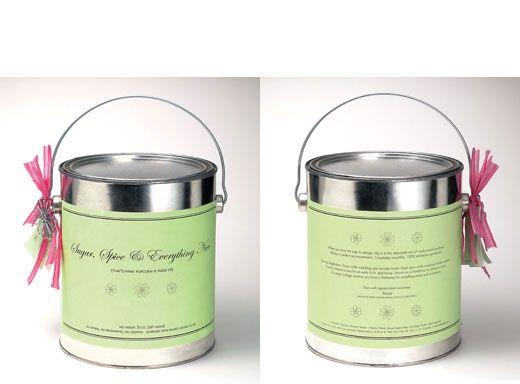 Sugar And Spice Popcorn | packaging design | Pinterest