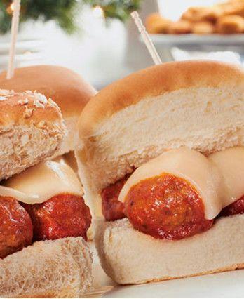 Italian Meatball Sliders | Recipe