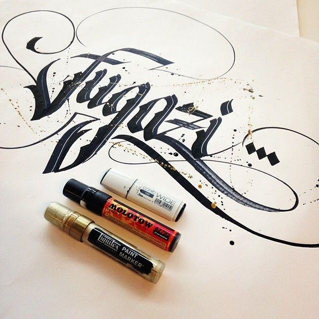 Blackletter Calligraphy Pinterest
