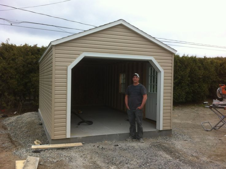 Vinyl Portable Car Garage : Pin by north country sheds on custom garages pinterest