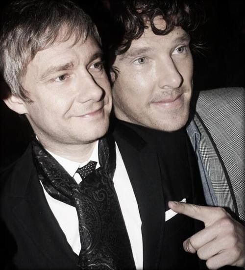 benedict cumberbatch and martin freeman sherlock