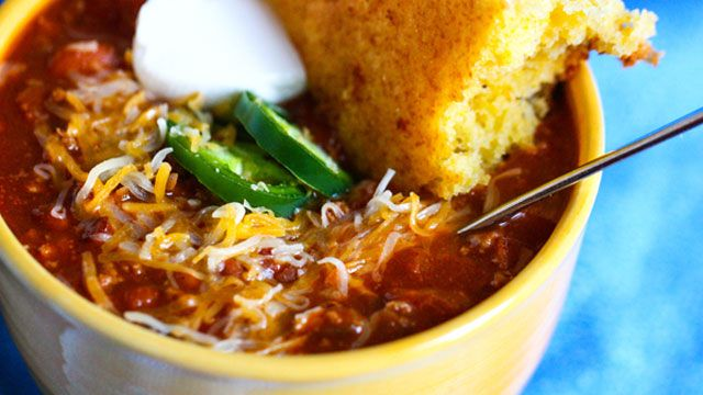 All-American Beef Chili with Beans | ♥RECIPES I WANT TO TRY ...