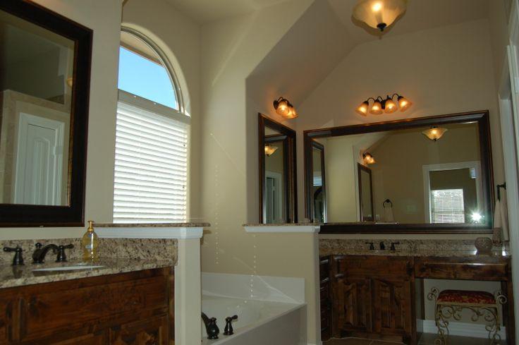 Unique Knee Space Bathroom Vanities   Cabinets With Dual Vanity And Knee
