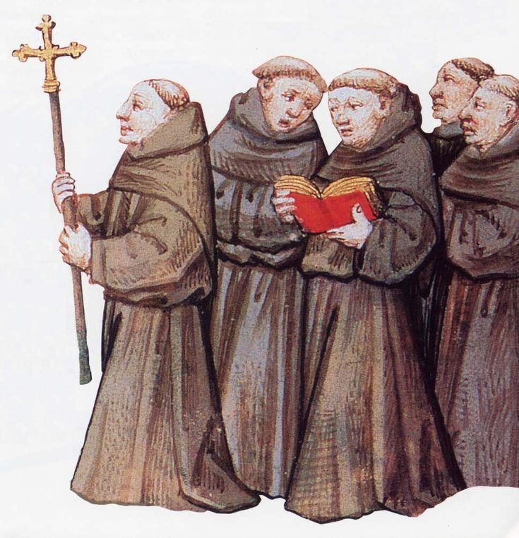 Franciscan Monks | Illuminted Inspiration - 105.5KB