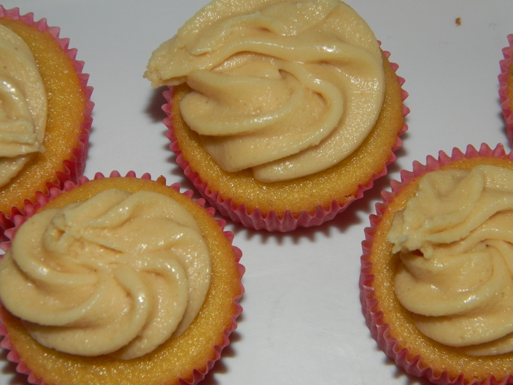 peanut butter & Jelly cupcake: yellow cupcake filled w/grape jelly ...
