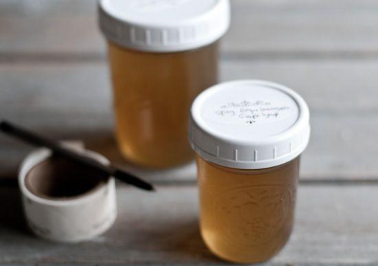 Lemongrass Ginger Syrup Recipe — Dishmaps