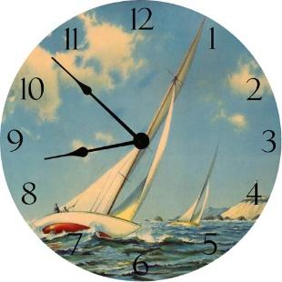 Sailboat race clock