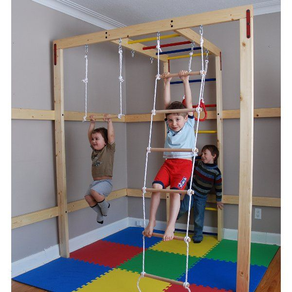 diy indoor jungle gym for kids for the home pinterest